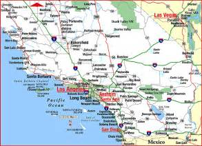 highway map of southern california aaccessmaps