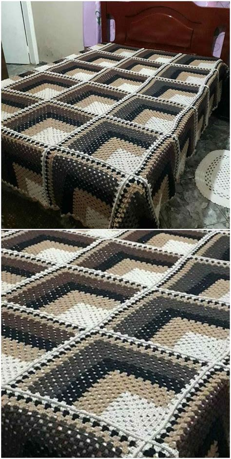 awesome  crochet blanket craft ideas   haekeln