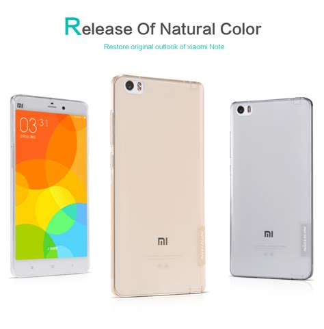 Oneplusx Nilkin Nature Tpu Original 100 soft nillkin xiaomi mi note new tpu nature series casingcoverhape