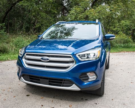 Ford Escape Titanium by Review 2017 Ford Escape Titanium 95 Octane