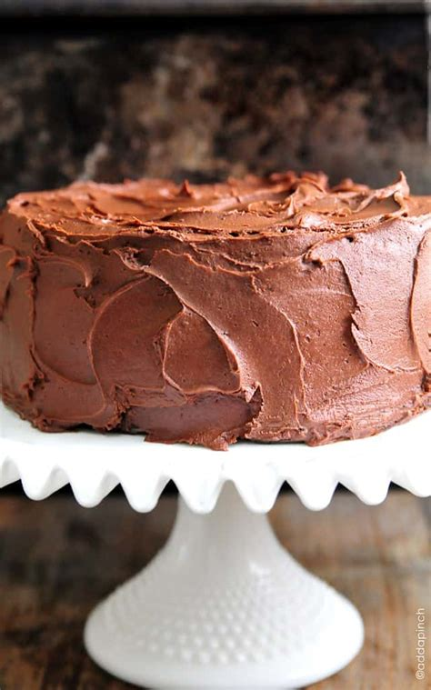 best chocolate frosting for cake the best chocolate cake recipe add a pinch