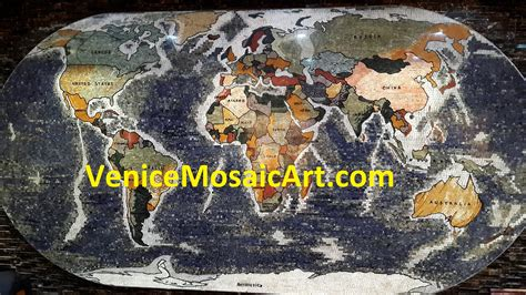 map world marble custom marble mosaic tile factory venice mosaic
