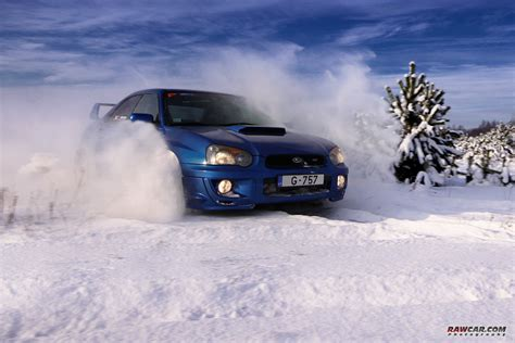 Subaru In The Snow by 187 Subaru In Snow Rawcar Automobile Photography