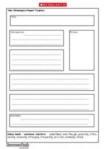 report writing template ks1 non chronological report template primary ks1 ks2