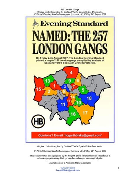 map of london gangs pdf