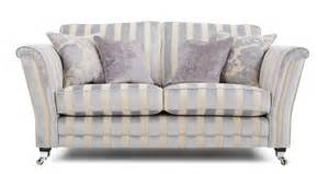 Striped Sofa And Loveseat Dfs Silver Fabric Hogarth Sofa Set Inc Stripe 2 Seater