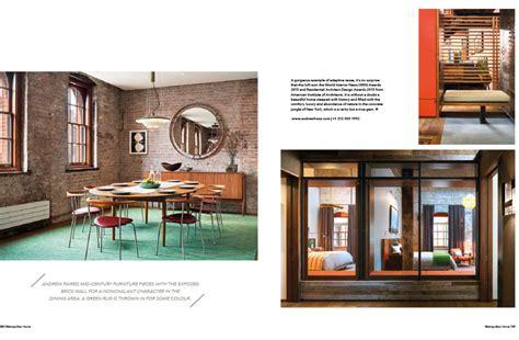 metropolitan home metropolitan home features tribeca loft andrew franz