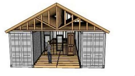 Best Home Garages shipping container workshop plans youtube