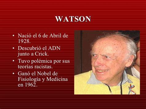 biografia watson y crick biografia watson y crick newhairstylesformen2014 com