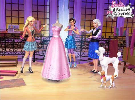 film barbie in a fashion fairytale barbie a fashion fairytale perfect dress barbie movies