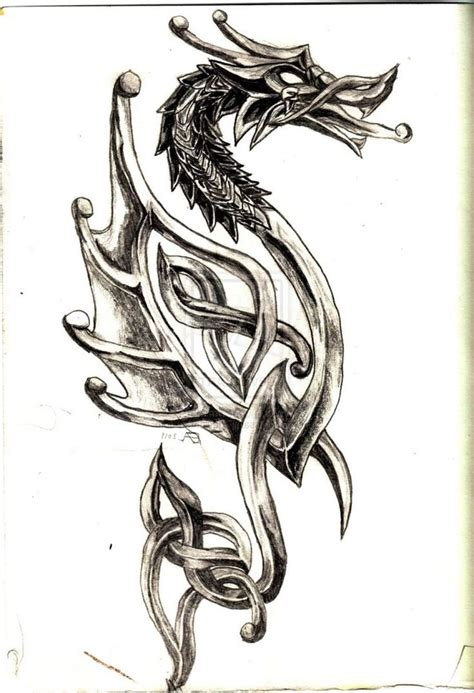 celtic tribal dragon tattoo amazing celtic designs bodyart