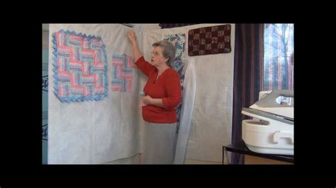 design wall  quilting youtube