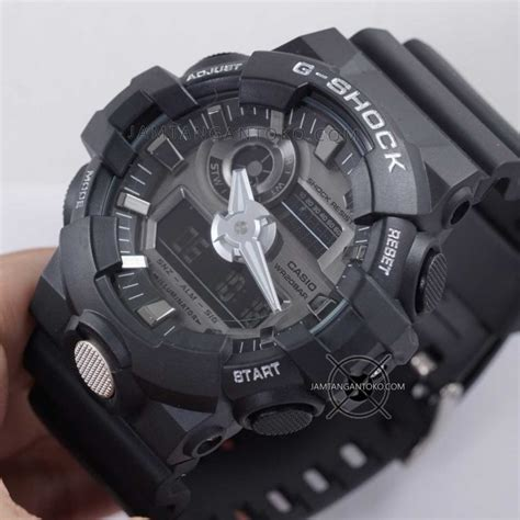 G Shock Black Ori gambar g shock ori bm ga 710 1a black silver on