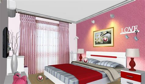 Mediterranean Home Designs by Pink Bedroom Interior Design Ideas Interior Design