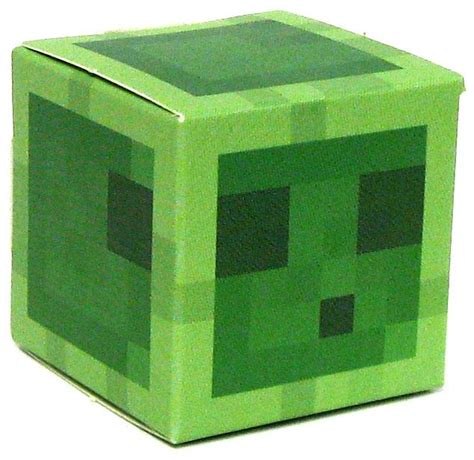 Minecraft Papercraft Slime - minecraft slime papercraft on sale at toywiz