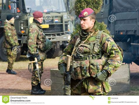 dutch armies of the armed special forces training editorial stock photo image of combat ammunition 35323628