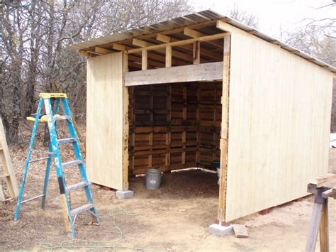 How To Build Shed Walls by Wood Pallet Shed Project