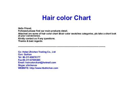 coloring hair power point hair color powerpoint presentation hair color chart