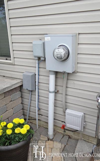 landscaping ideas  hiding utility fixtures outdoor