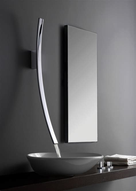 Ultra Modern Bathroom Faucets The Lunar Effect On Faucets Yanko Design