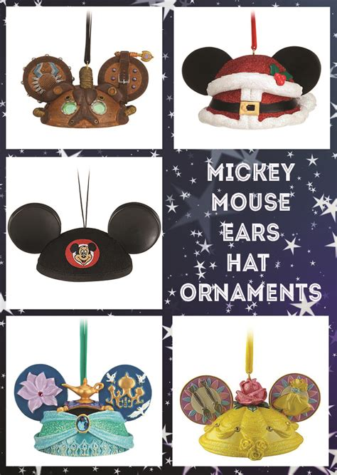 mickey mouse ears ornaments mickey mouse ears hat ornaments