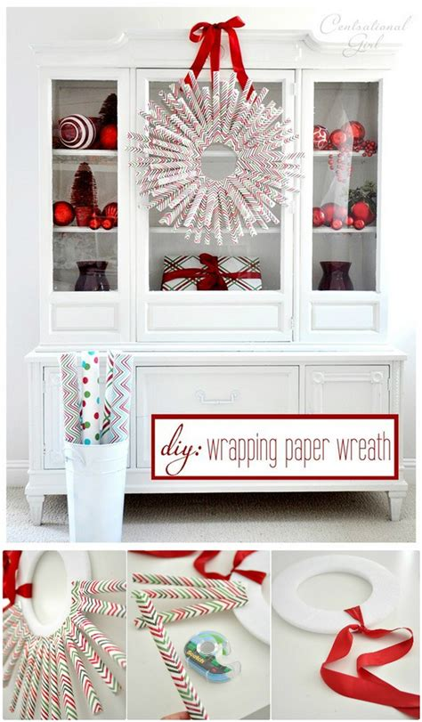 wrapping paper crafts  home decor diy home decor