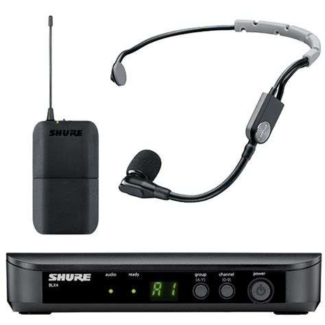 Headset Shure shure blx14 sm35 wireless system with sm35 headset mic