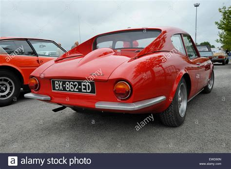 Classic Alfa Romeo by Classic Alfa Romeo Spider Coupe Sports Car Stock Photo