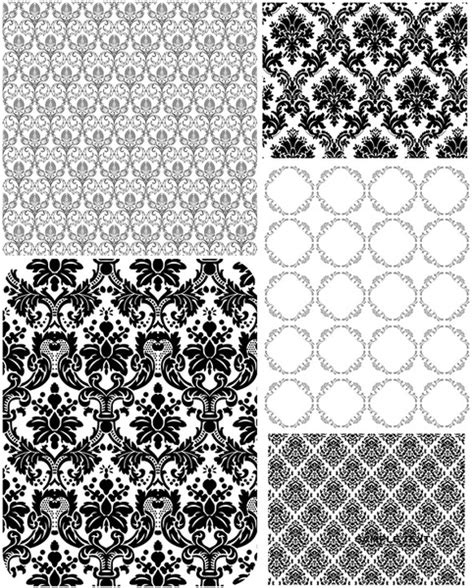 lace pattern ai 5 europeanstyle lace pattern vector free vector in adobe