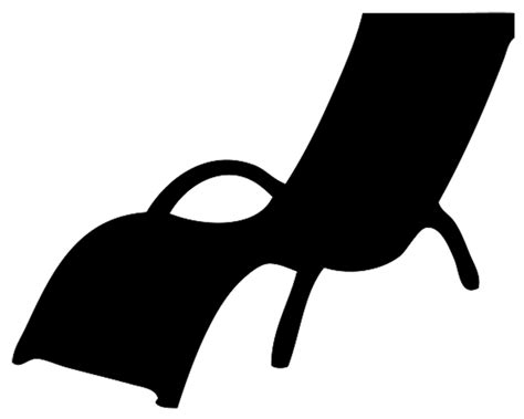 Armchair Furniture Silhouette Clipart
