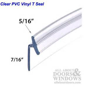 frameless shower door seal shower door side seal