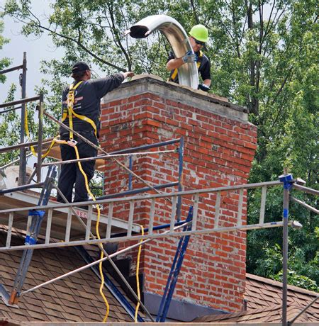Chimney Liner Installation Companies - chimney liners chimney relining stainless steel