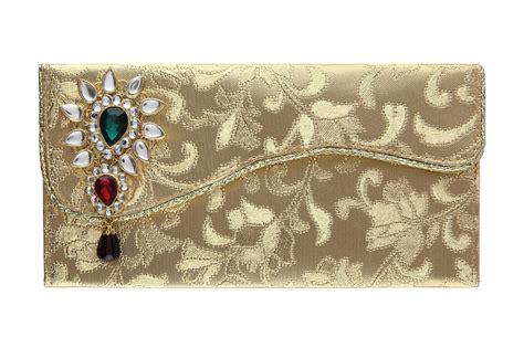Indian Wedding Card Envelope Design by Indian Wedding Envelope With Kundan Accessory