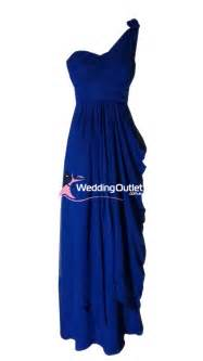 dark blue one shoulder bridesmaid dresses style c101