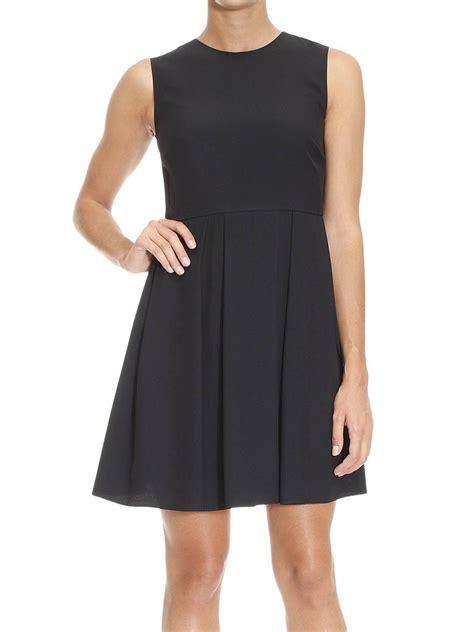 Sleeveless Pleated Mini Dress pleated skirt sleeveless mini dress by valentino