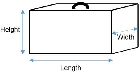 diagram length width height luggage policy talofa airways