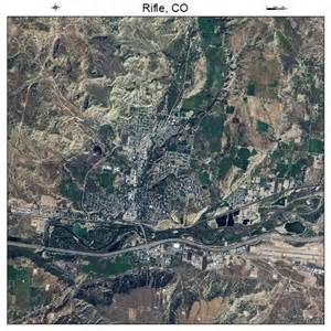 rifle colorado map aerial photography map of rifle co colorado