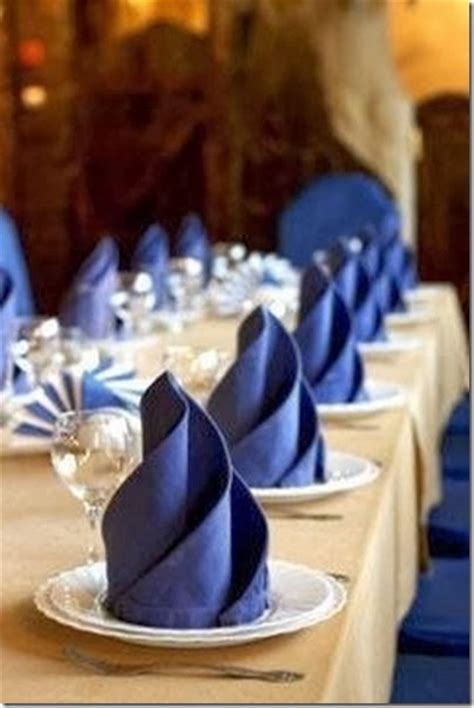 How To Fold Paper Napkins For A Wedding - 20 best diy napkin folding tutorials for