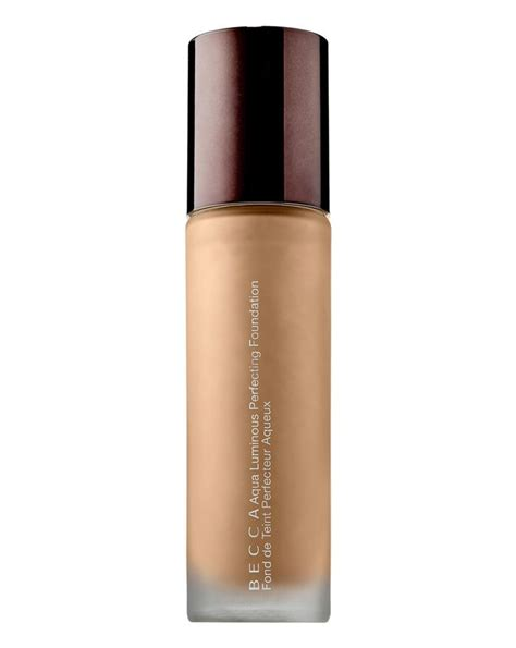 becca aqua luminous perfecting foundation in light aqua luminous perfecting foundation becca cult