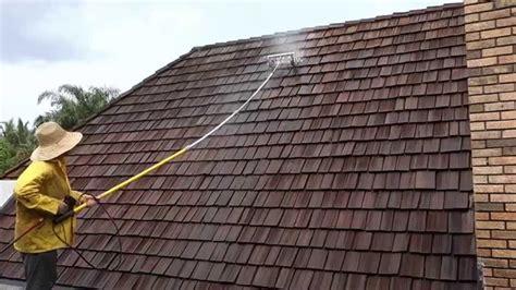 cedar shake roof repair painting sealing restoration west