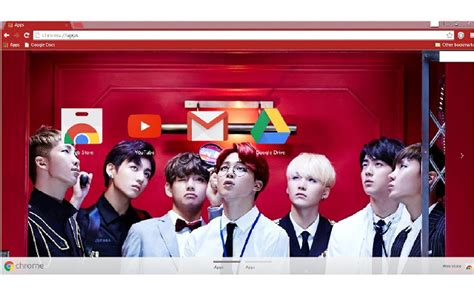 gmail themes kpop bts dope theme chrome web store