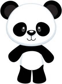 panda clipart pin de en panda osos molde