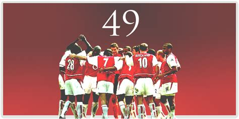 arsenal unbeaten season table the invincibles a look back longpuntupfield