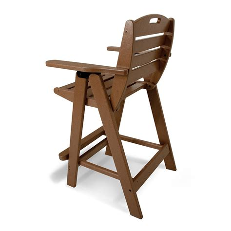Pub Height Chairs by Outdoor Bar Height Chair Polywood All Weather Patio