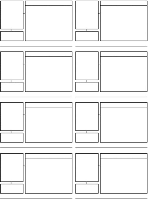magazine storyboard template pin storyboard template on