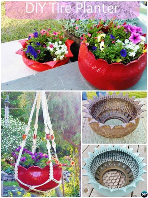 Tire Planter Ideas by Diy Recycled Tire Planter Ideas For Your Garden