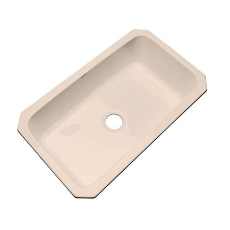 acrylic undermount kitchen sinks lyons industries essence top mount acrylic 33x22x9 in 4