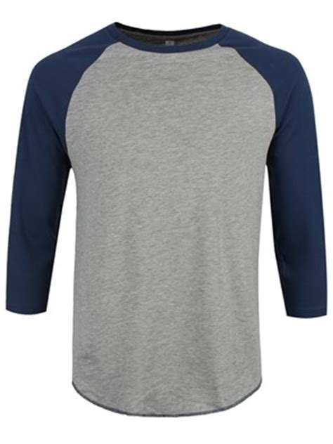 Tshirt Kaos Psycho grey swiss navy s baseball t shirt buy