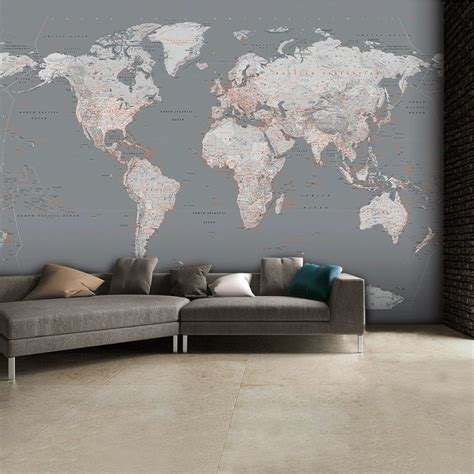 map wall murals 25 best ideas about world map wallpaper on