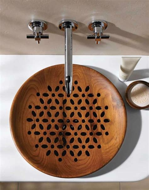 wooden bathroom sink 30 extraordinary sinks that you will not find in an